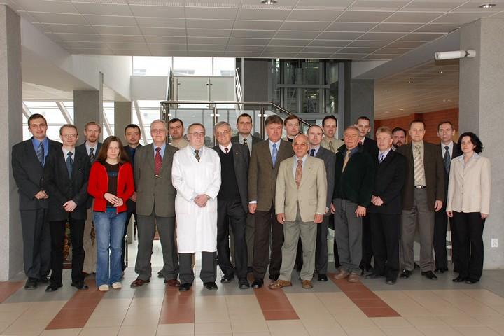 Pracownicy Katedry Telekomunikacji i Aparatury Elektronicznej - 2007